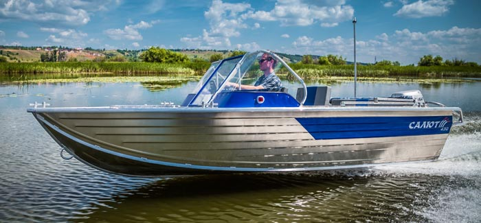 Моторная лодка Салют-430 в варианте исполнения Scout Classic<br>Калькулятор-конфигуратор.
