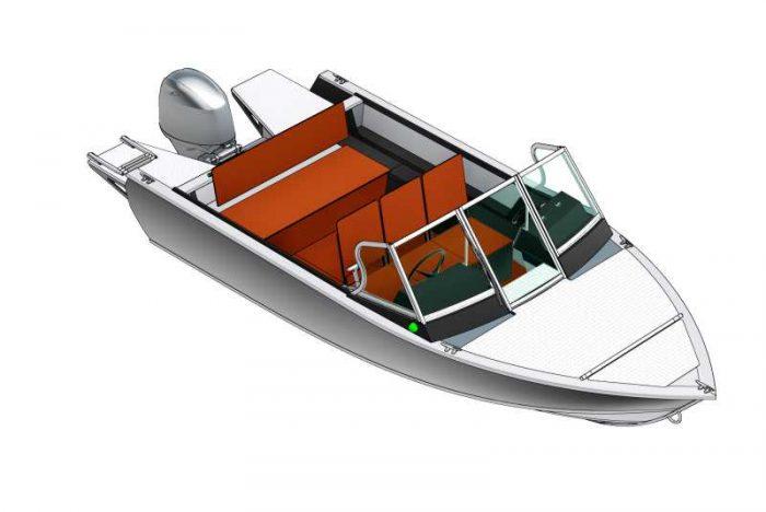 Лодки и Катера САЛЮТ - САЛЮТ  Алюминиевые моторные лодки