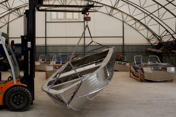 Дюраль и АМг. О массе и размерности лодок