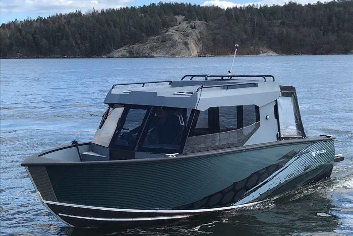 Первый REALCRAFT 600 Cabin в водах Балтии